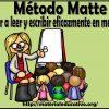 Excelente método Matte: aprender a leer y escribir eficazmente en menos tiempo