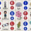 Maravilloso abecedario para imprimir, recortar, plastificar y crear un memorama para preescolar, primer y segundo grado de primaria