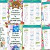 Fabulosas mamparas del calendario de 195 día para el ciclo escolar 2017 – 2018
