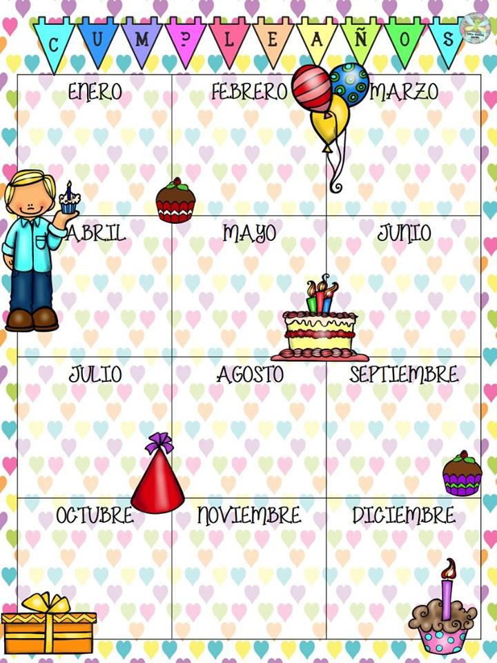 calendario de cumpleanos