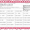 Estupendo ¡Minuto Loco! para conjugar verbos para tercer a sexto grado de primaria