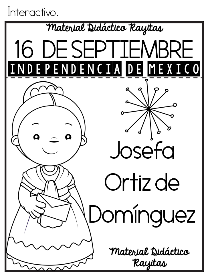 Dibujos Para Colorear De La Independencia 16 De Jidiworkoutco