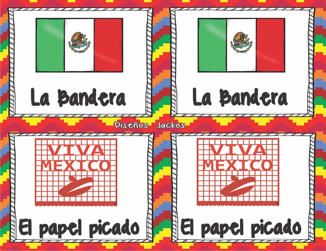 Divertido Y Tradicional Memorama Mexicano Material Educativo