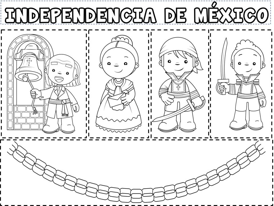 Magnifico material de los personajes de la independencia de México ...