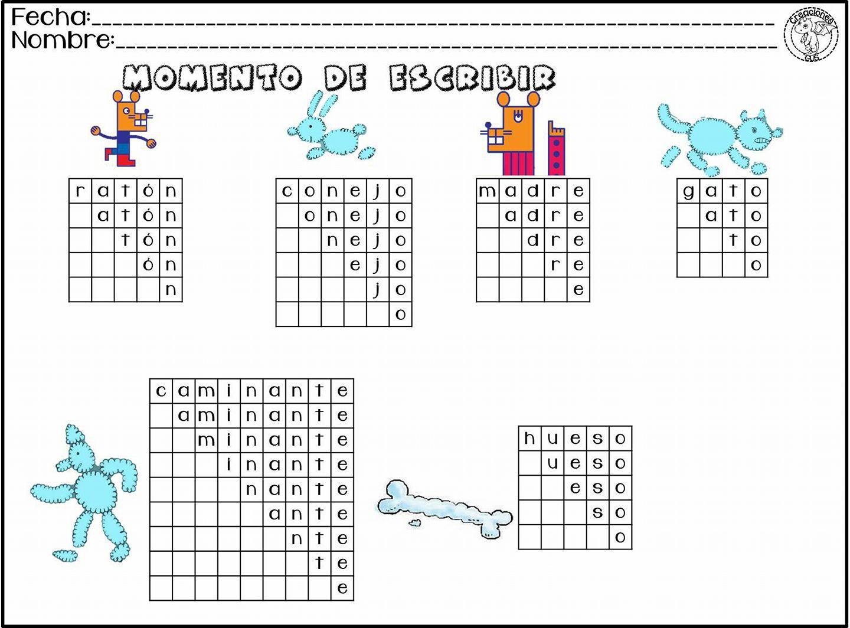 Actividades de escritura y lectura para primer grado de primaria ...