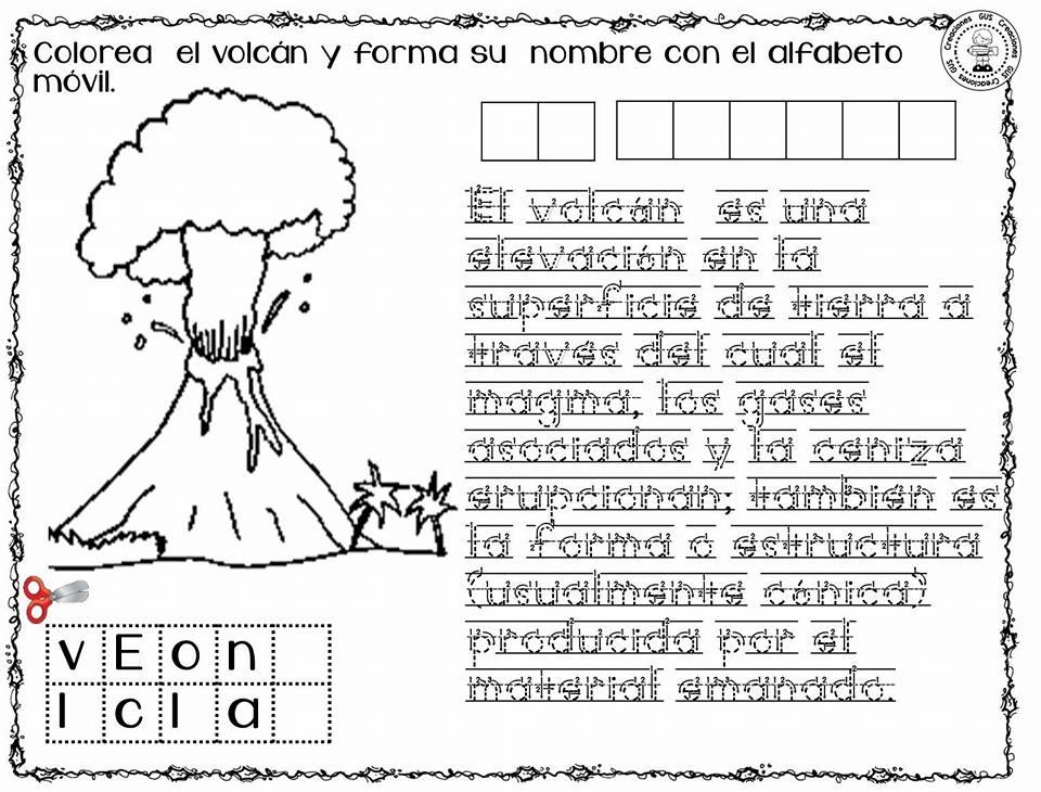 Moderno Volcán Colorear Ideas - Dibujos Para Colorear En Línea ...