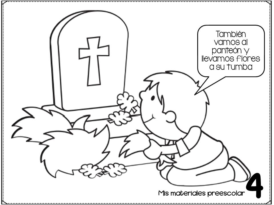 Genial cuadernillo de día de muertos | Material Educativo