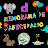 Fantástico memorama del abecedario