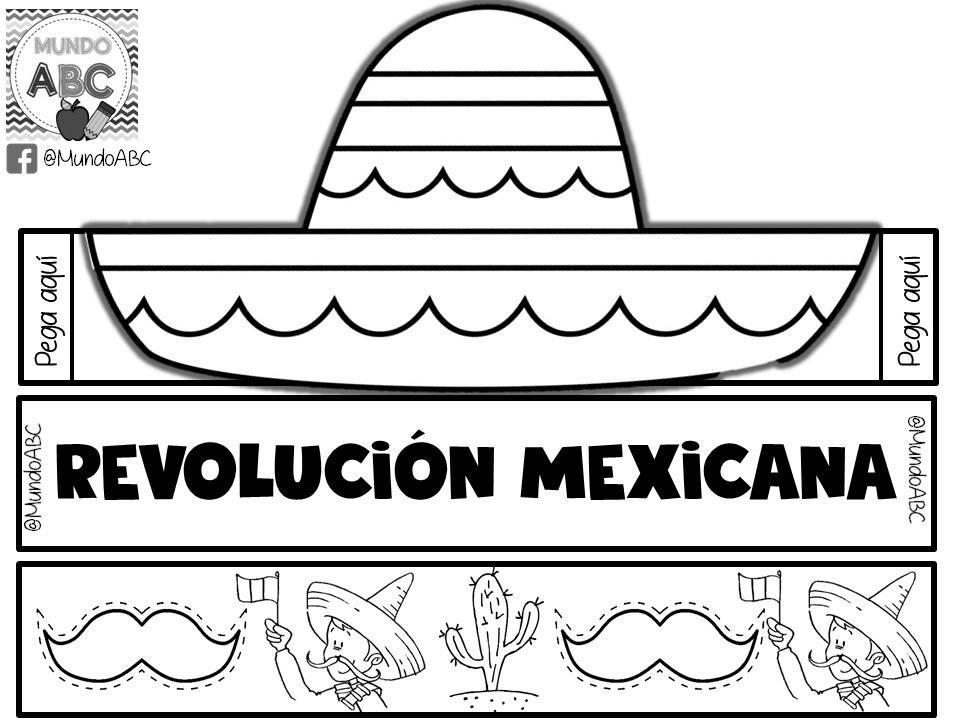 Fantástico y creativo sombrero para este 20 de noviembre revolución ...