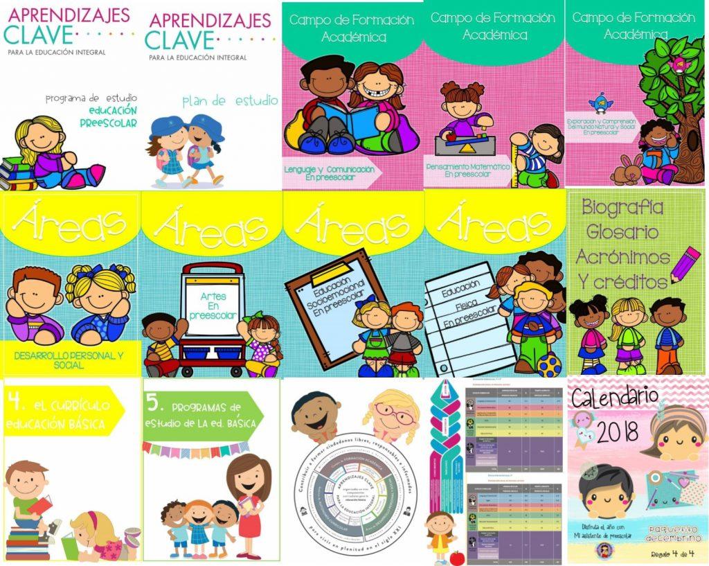 Calendario escolar 2017 2018 195 dias preescolar newcalendar - Programas de diseno ...
