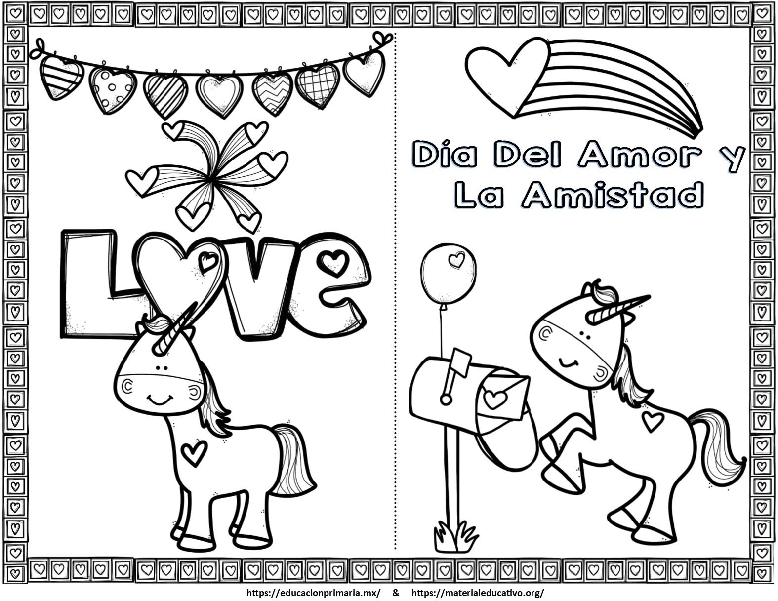 Bonitas tarjetas del día del amor y la amistad o San Valentín de ...