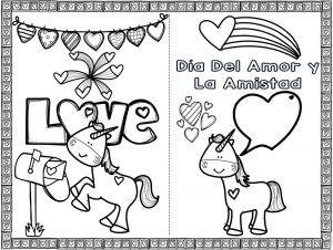 Bonitas Tarjetas Del Dia Del Amor Y La Amistad O San Valentin De