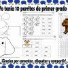 Material educativo para trabajar la lección 14 – Yo tenía 10 perritos de primer grado de primaria