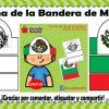 Linda corona para nuestros alumnos de la bandera de México