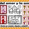 Lindo memorama, tarjetas, dibujos y detalles para el día del amor y la amistad