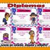 Maravillosos, llamativos y fantásticos diplomas variados