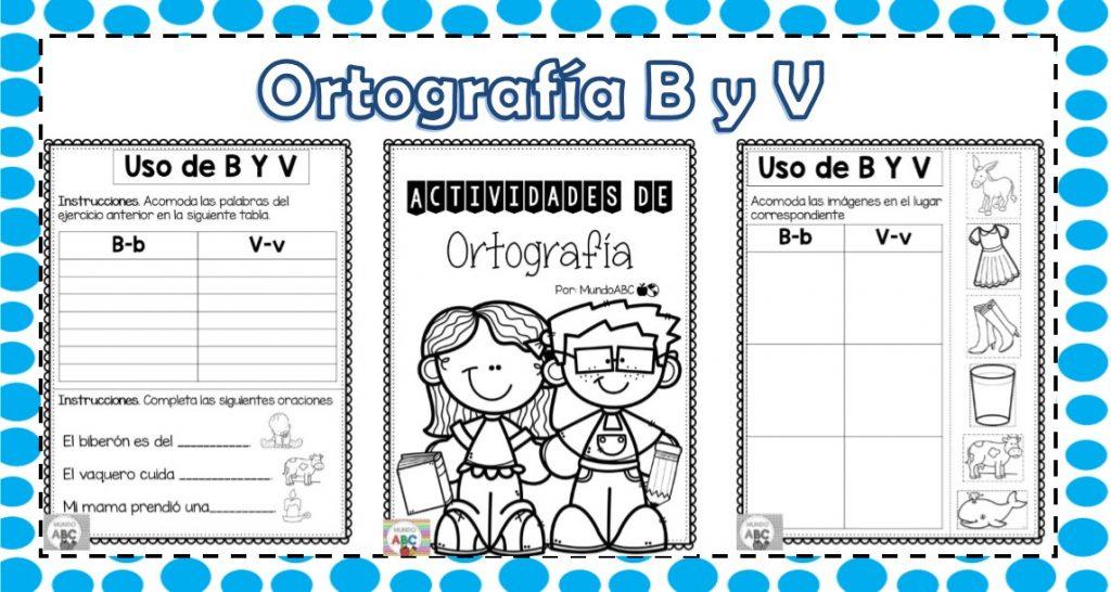 Fabulosas Actividades De Ortografia De La Letra B Y V on Letras Para Colorear