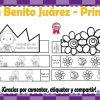 Bonitas y fantásticas coronas de Benito Juárez y de la Primavera