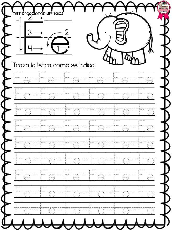 Fabuloso libro de trazos para preescolar, primer y segundo