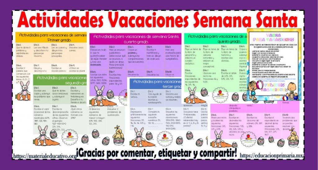 Calendario Para Ninos De Kinder.Maravilloso Calendario De Actividades Para Vacaciones De